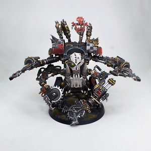 Painted Miniature Deff Dread Warhammer 40K magneted weapons
