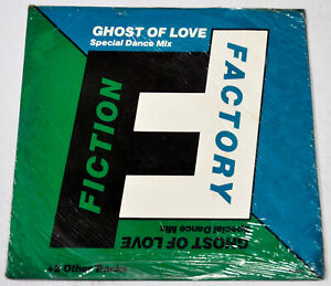 """Imported FICTION FACTORY Ghost Of Love 12"""" EP Record"""