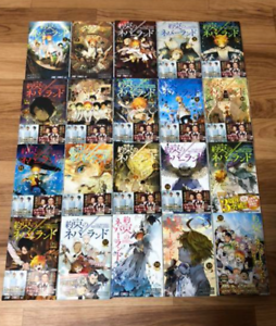 The-Promised-Neverland-vol-1-20-Complete-set-Comics-Manga