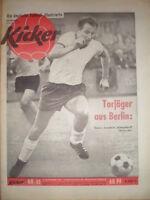 KICKER 45 - 5.11. 1962 * Altendorff KSC-Frankfurt 3:3 Offenbach-Augsburg 5:3