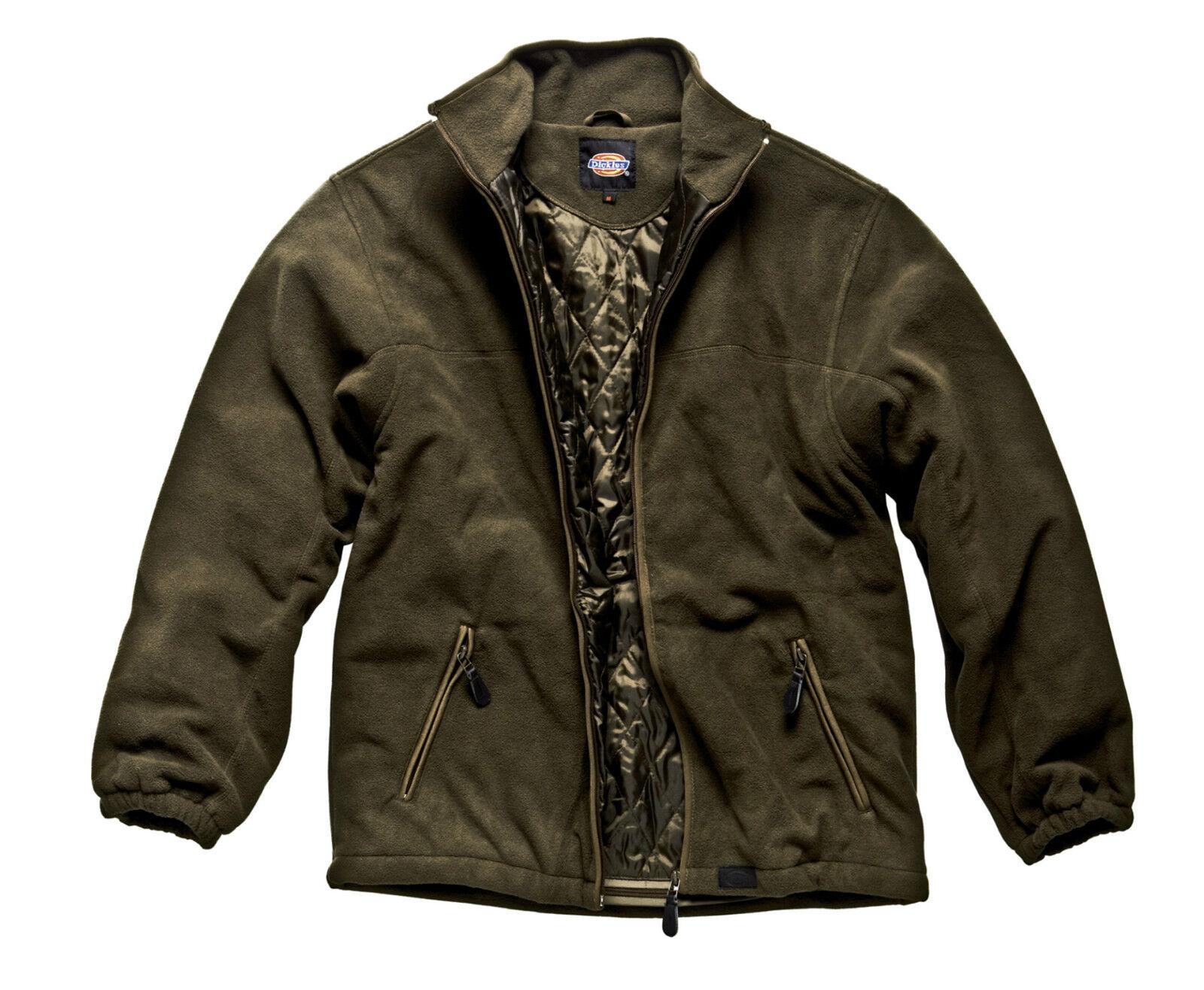 Dickies Padded Fleece jw81700 moosverde chaqueta Pinewood poliester viento denso