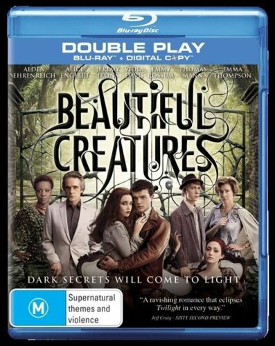1 of 1 - Beautiful Creatures (Blu-ray, 2013, 2-Disc Set)Excellent Condition*