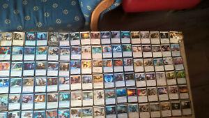 magic the gathering sammlung commander wizard und bird deck100karten.leg-creatur