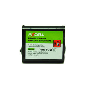 1Cordless-Phone-Battery-For-Panasonic-P-P511-ER-P511-HHR-P402-KX-TG2730-TG5100B