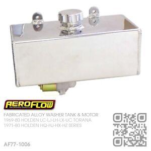 AEROFLOW-FABRICATED-ALLOY-WASHER-TANK-amp-MOTOR-HOLDEN-HQ-HJ-HX-HZ-MONARO-GTS