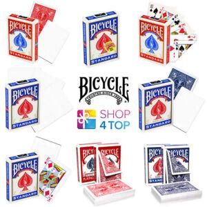 Bicycle Magic Tricks Spielkarten Deck Kein Gesicht Leer Doppel Stripper Kurz New