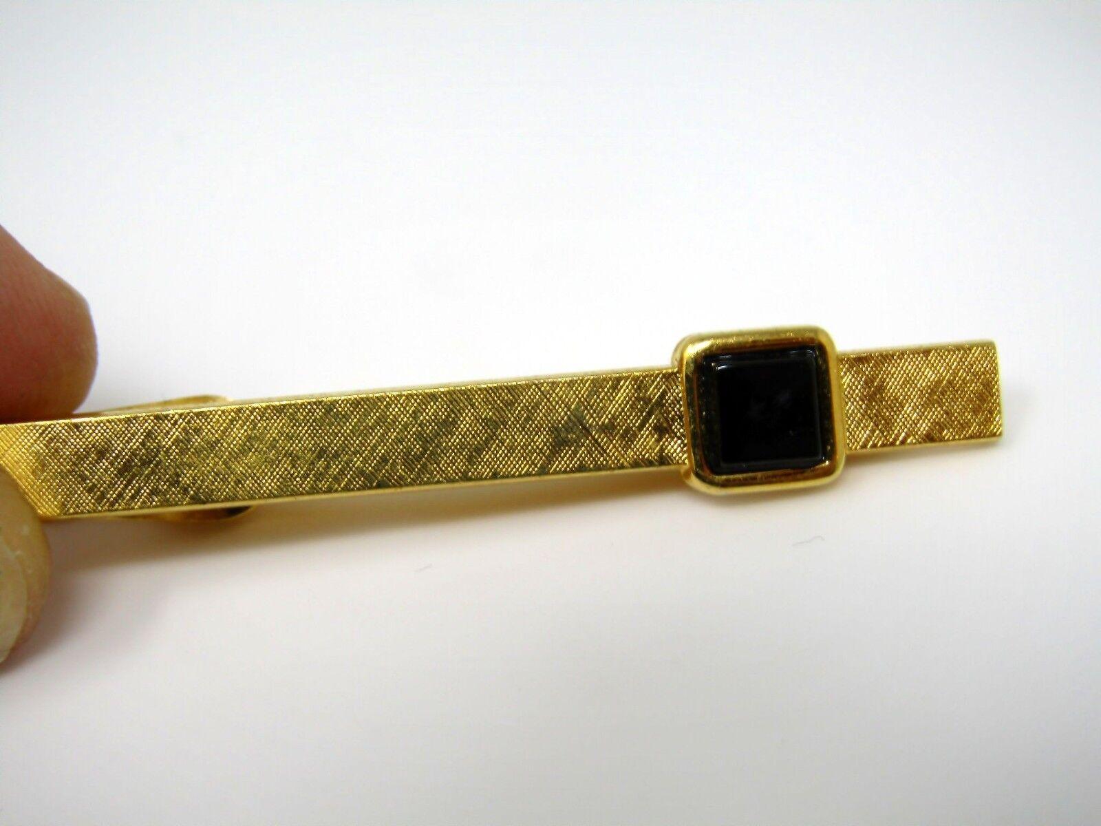 Vintage Tie Clip  Pearlized  Tie Bar  Cabochon  Silver Scroll  Ornate Design  Wedding  Gentlemen  Suit  Tie Accessories  Gold Tone