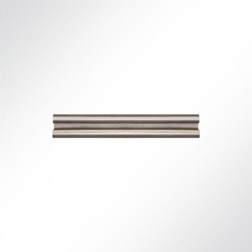 Lysel® Laufschiene Edelstahl nirosta 25x19mm Schiebetor Schiebetür Hallentür 3..