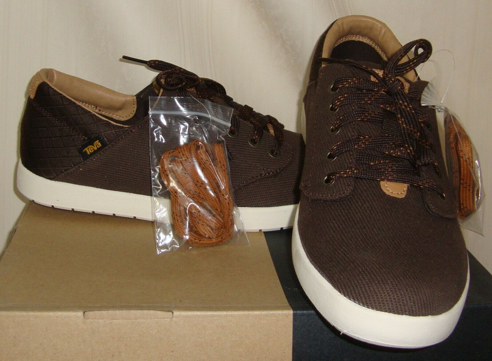 Teva STERLING LACE Brown Casual Lace Up