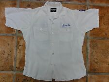 Vintage 1950's Bowling Shirt King Louie, Ten Strike ABC Sparks Aerie 2625 'Jack'