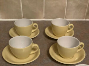 Vitrified-Hotel-Ware-Dunn-Bennett-Royal-Doulton-Cups-And-Saucers