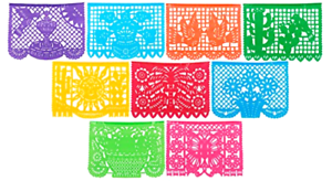 Details About Cutout Plastic Banner For Indoor Outdoor Fiesta Party Decoration Mexican Style