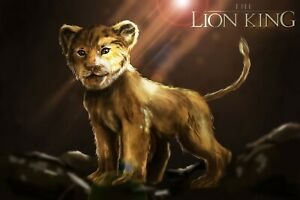 Details About The Lion King 2019 Movie Silk Cloth Poster 20x13 36x24 Decor 03