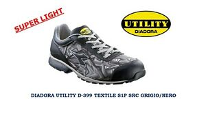 SCARPE ANTINFORTUNIST<wbr/>ICHE DIADORA UTILITY D-399 TEXTILE SUPERLIGHT LOW S1P HRO
