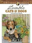 Creative Haven Lovable Cats and Dogs Coloring Book by Ruth Soffer (Paperback, 2016)