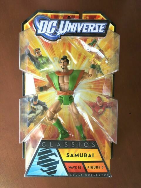 DC Universe Classics Apache Chief Wave 18 Super Friends Samurai DCUC