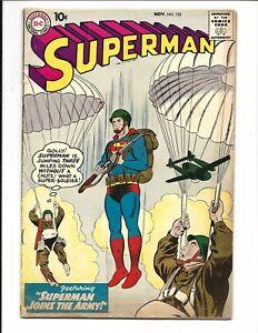 SUPERMAN-133-DC-COMICS-NOV-1959-VG