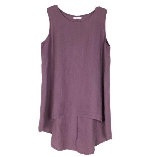 Bryn Walker Womens Size XL Linen Tunic Top Lagenlo