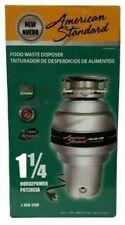 New American Standard 1.25 HP Waste Disposer Kitchen Food Garbage Quiet Disposal