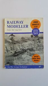 'railway Modeller' Magazine - October 1962 Performance Fiable