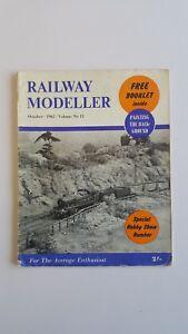 'railway Modeller' Magazine - October 1962 Prix De Vente Directe D'Usine