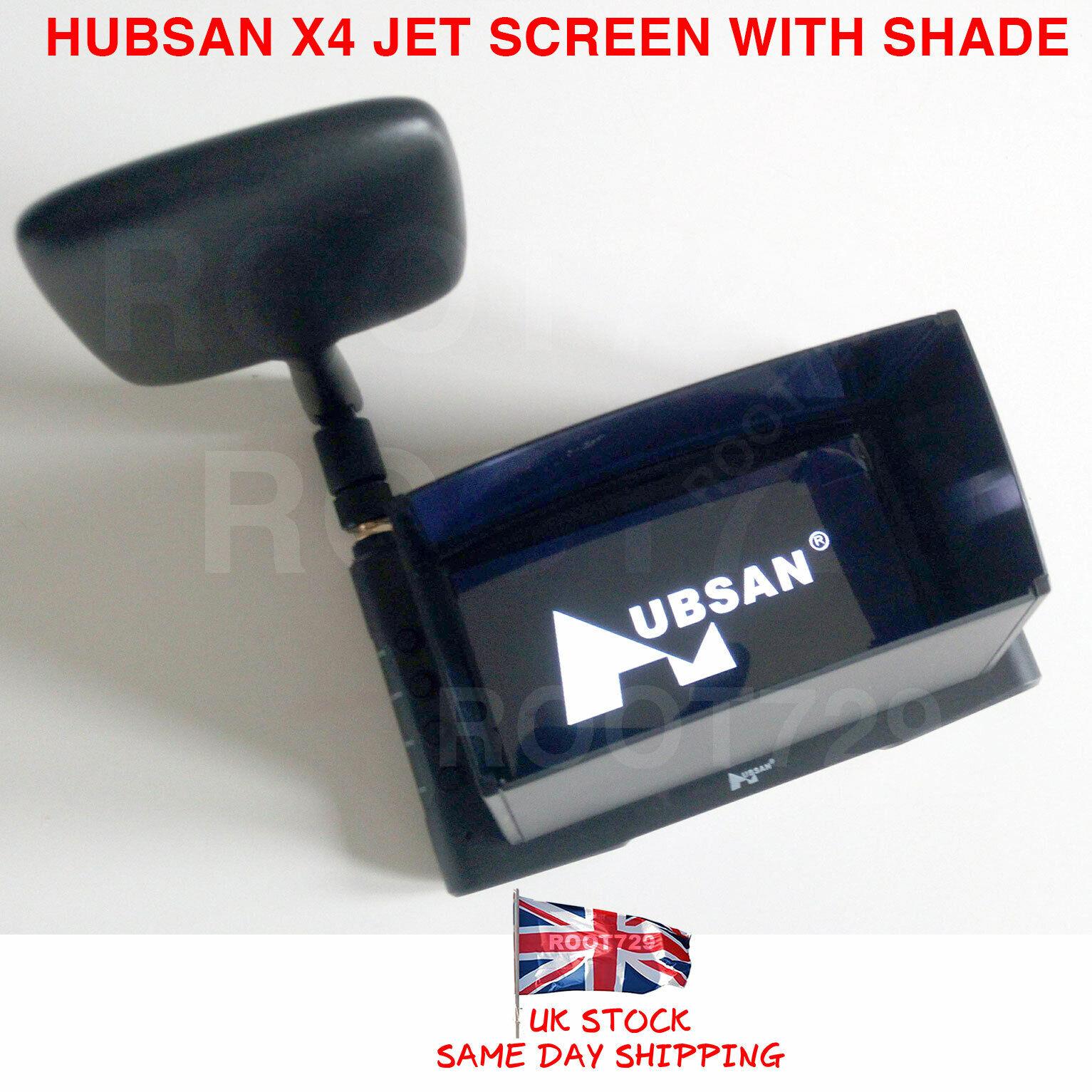 Genuine Hubsan H123 X4 Jet HS001 Pantalla con sunshield Cubierta H123D-16 Reino Unido Stock