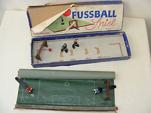 Old-Game-Fussball-Spiel-From-VEB-Metaplast-Pwb-GDR-VEB-Plastic-Factory-Berlin