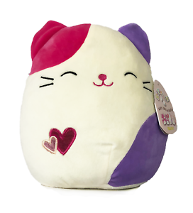 """Kellytoy Squishmallow 13/"""" Valentines Gift Pink Cat Soft Plush Animal Toy Pillow"""