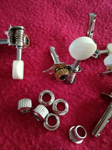 Acoustic Guitar open gear Tuning Pegs Machine Heads 3//side