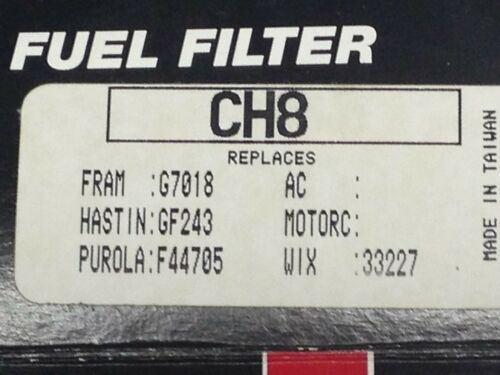 Dodge Industries CH8 Fuel Filter 1991 Chrysler Plymouth G.K