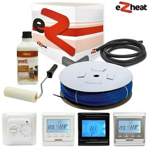 Incredible Underfloor Heating Cable Kit With Thermostats 1 33 2 2M2 28 5M Wiring Cloud Hisonuggs Outletorg