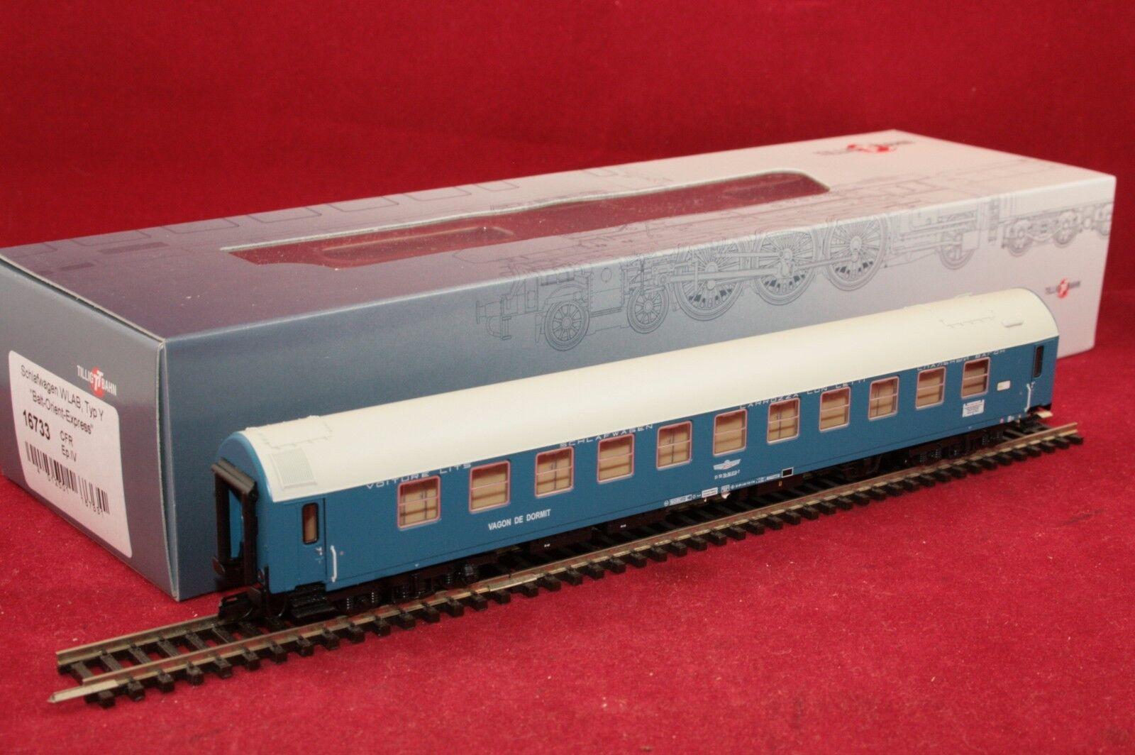 Tillig TT 16733 CFR Schlafwagen in blue Balt-Orient-Express NEU OVP