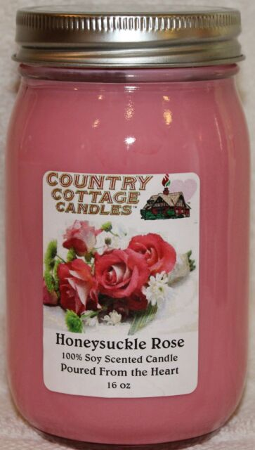 Honeysuckle Soy Candle-16 oz-Hand Poured-FREE SHIPPING