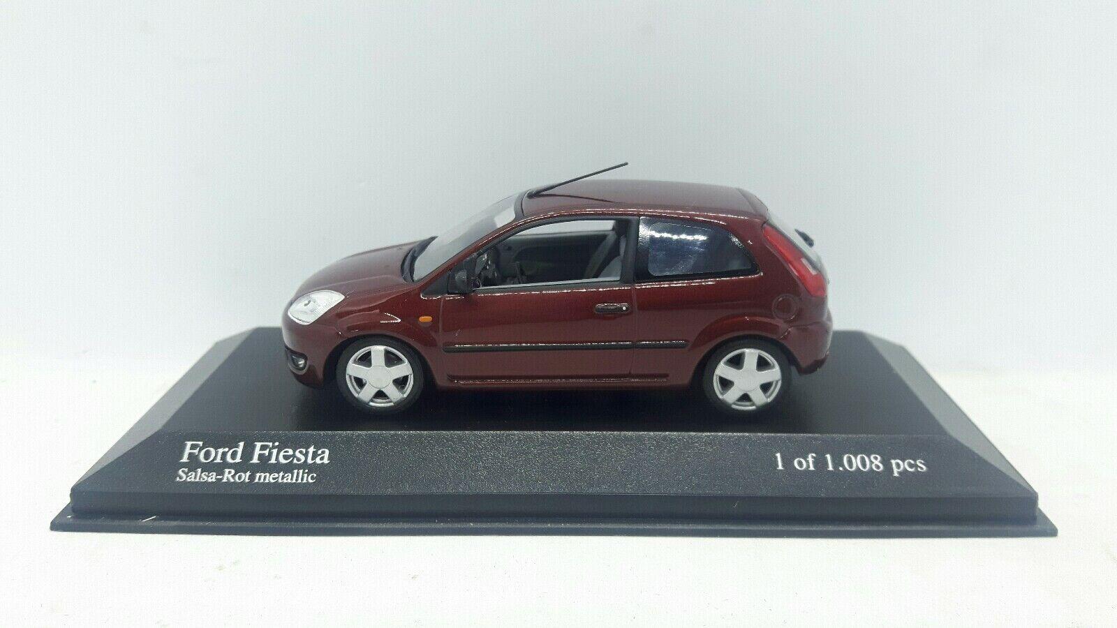 Minichamps Ford Fiesta 2002. rouge metallic. 1 43.