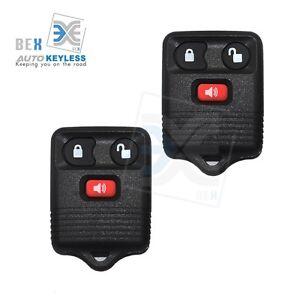 2 Keyless Entry Remote Key Fob Clicker Transmitter For Ford 1998-2003 Windstar