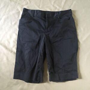 Lauren-Ralph-Lauren-Bermuda-Walking-Shorts-Black-Woman-039-s-8