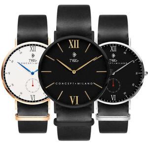 Reloj-hombre-mujer-TWIG-MILLET-MOLIERE-piel-clasico-vintage-fashion