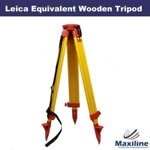 Wooden-Tripod-for-Leica-Topcon-Trimble-Theodolite-Total-Station-Laser-Level