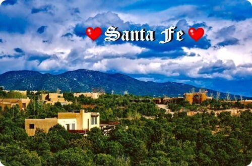 I`Love Santa Fe I Kühlschrankmagnet,Magnetschild,Magnet