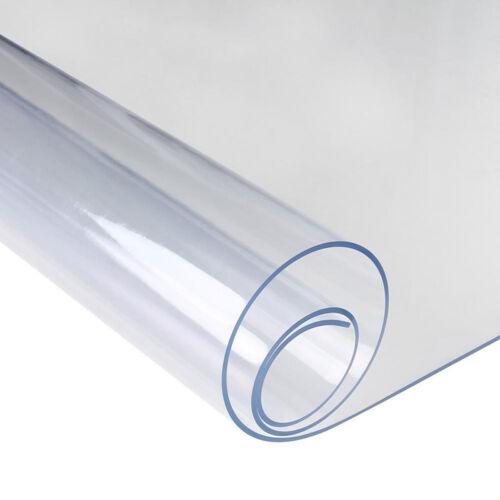 Nappe Transparente Protection de table 2 mm d'épaisseur résistant à l/'huile
