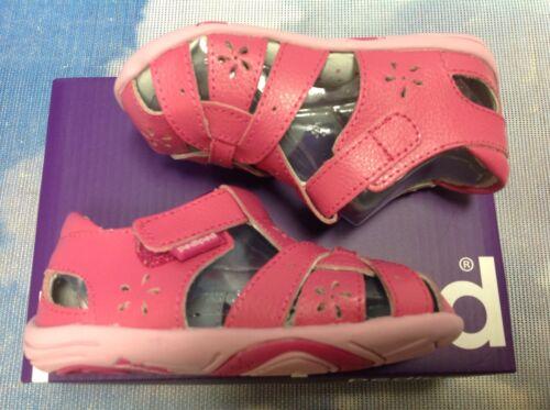 Pediped Grip /'n/' Go Nikki V Leather Sandal Size 21 6.5 22 //US Toddler Size 5.5