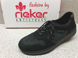 rieker ® reduziert bisher 64,95 € Schuhe schwarz grau (R559 PLqNn