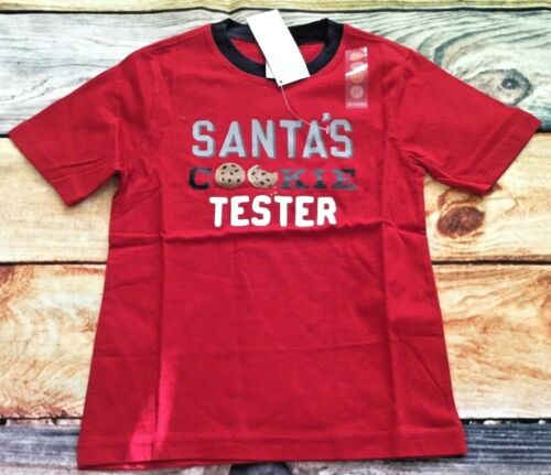 Gymboree Santa/'s Cookie Tester Tee Shirt 3T 4T 5T NWT Christmas Holiday Outlet