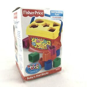 Fisher-Price-Babys-First-Blocks-Basic-Brilliance-New-Never-Opened-Educational