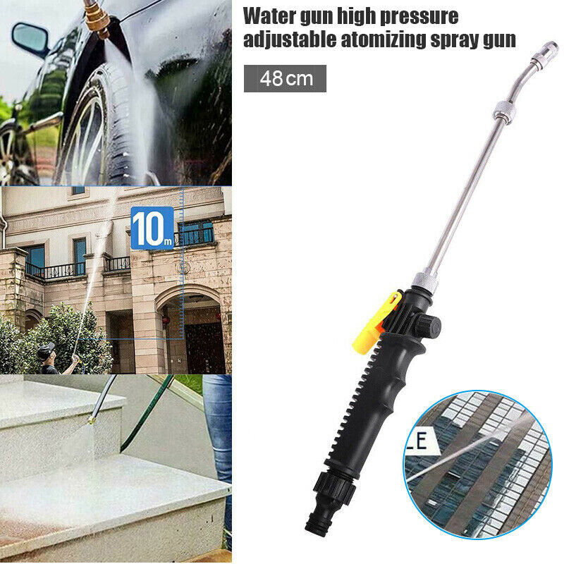 High Pressure Power Washer Spray Nozzle Water Jet Hose Wand for Car Washing