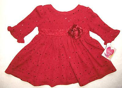 Festtagskleid Rot Pailletten Neu Gr 74 92 Kleid Weihnachtskleid Blumenmadchen Ebay
