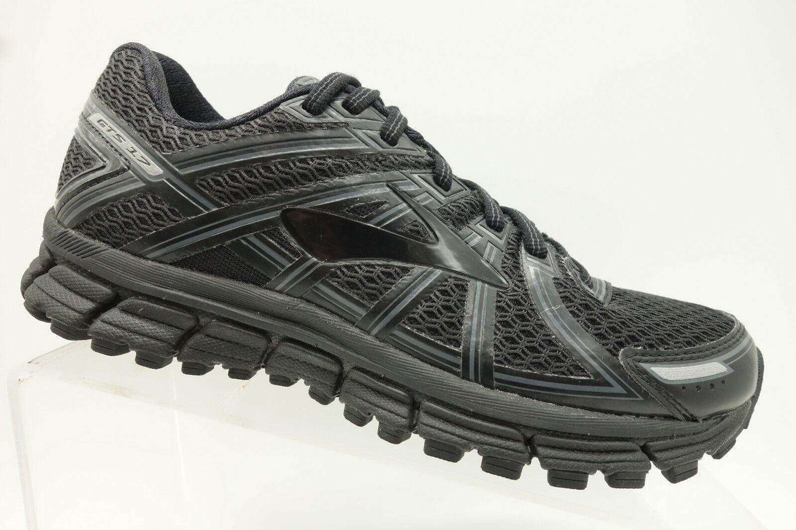Brooks GTS 17 Black Athletic Running shoes Womens 7 B