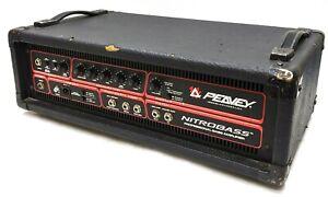 Peavey-Nitrobass-Professional-Bass-Amplifier-Amp-Head-450-Watt-Tested-Working