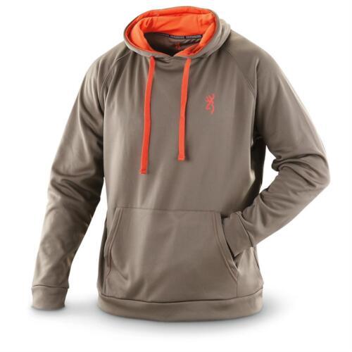 Browning Men/'s Performance Hooded Sweatshirt Mudslide
