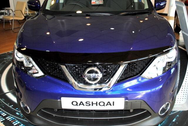 Nissan Qashqai J11 Hood Bonnet Deflector Stone Chip Bug Deflector New Genuine